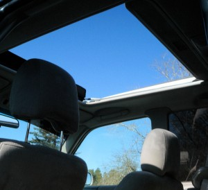 Forester sunroof