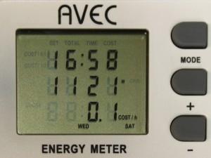Defa lohkolämmittimen + Defa sisätilalämmittimen energiankulutus